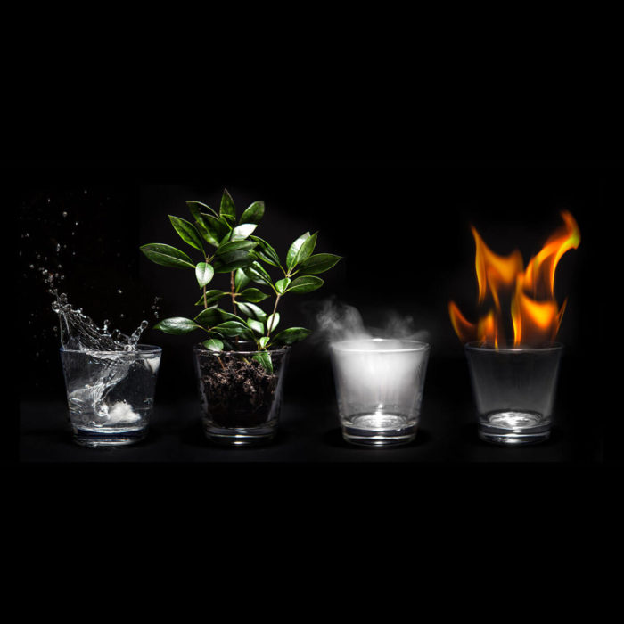 Webdesign und die Energie Elemente by
